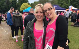 Race for Life - Sharon & Katherine edit